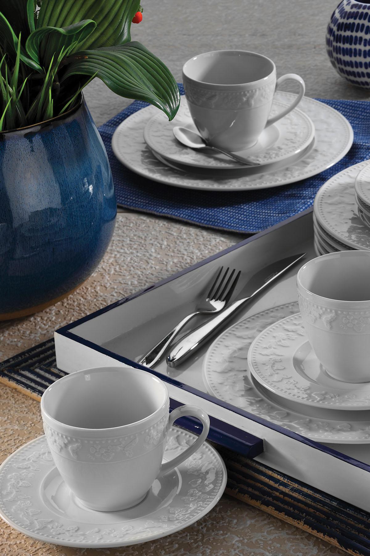 Kütahya Porselen - Kütahya Porselen Silvia Kahve Fincan Takımı