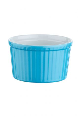 Kütahya Porselen 9 cm Sufle Kasesi Mavi - Thumbnail (1)