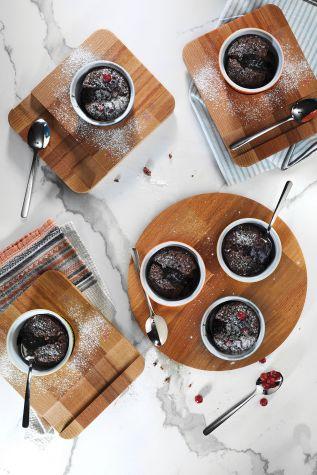 Kütahya Porselen 9 cm Sufle Kasesi Turuncu - Thumbnail (3)