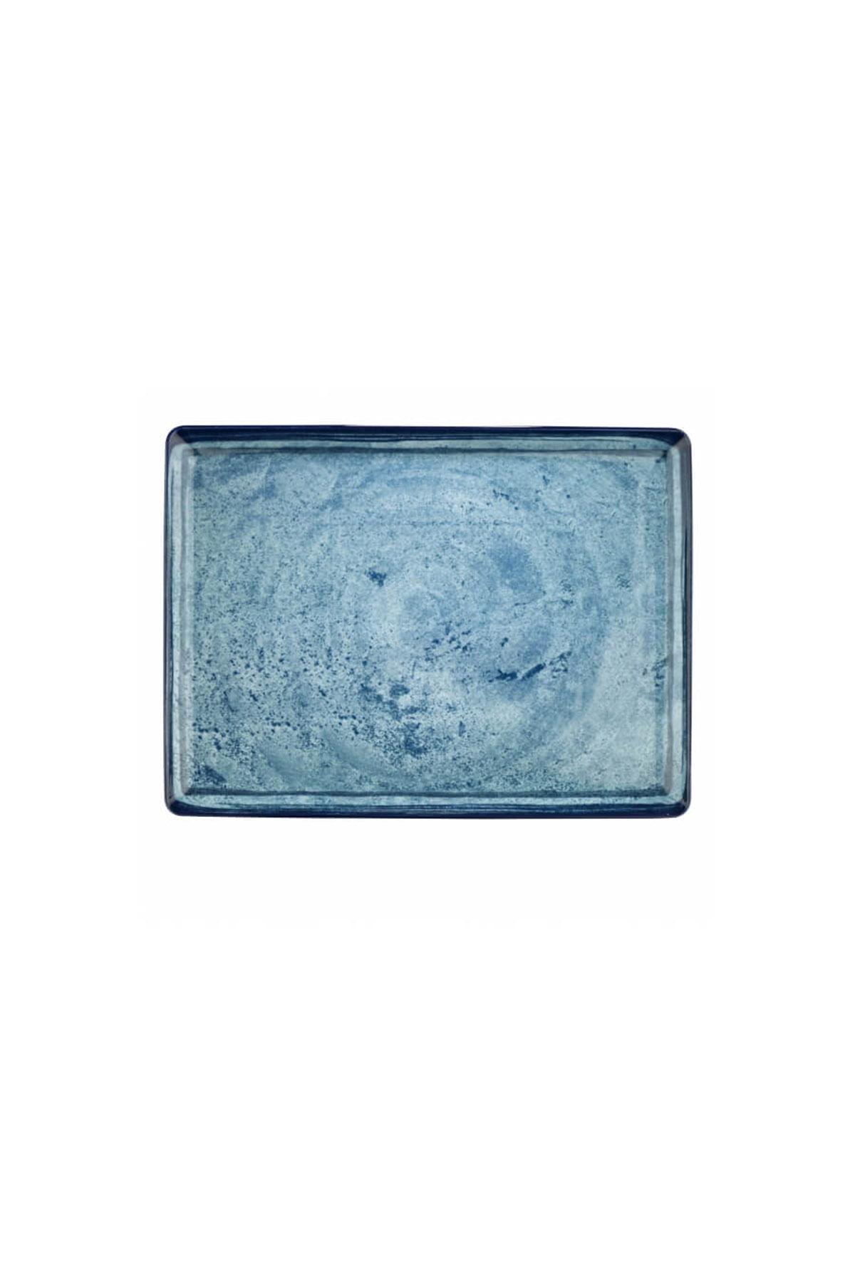 Kütahya Porselen Nano Krem 23x17 cm Düz Tabak 890003