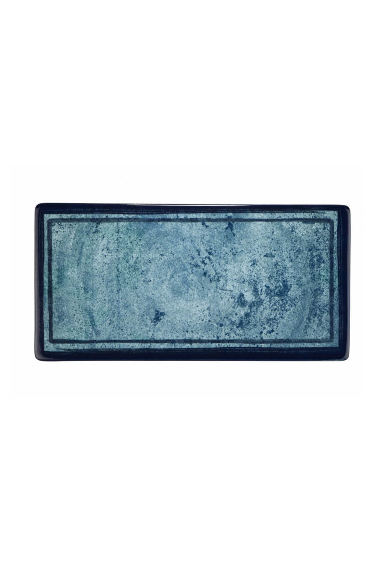 Kütahya Porselen Nanokrem 35x15 cm Düz Tabak 890003