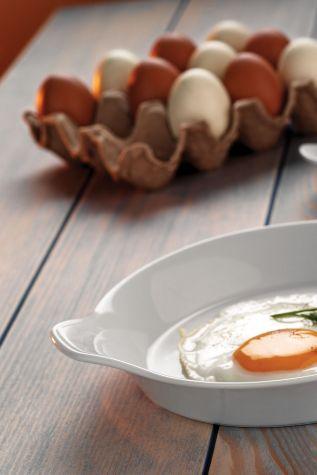 Kütahya Porselen - Kütahya Porselen Yumurta Sahanı 18 cm