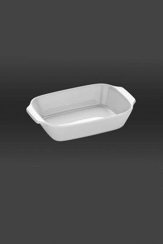 Kütahya Porselen - Kütahya Porselen Tavola 41 cm Fırın Kabı Dikdörtgen