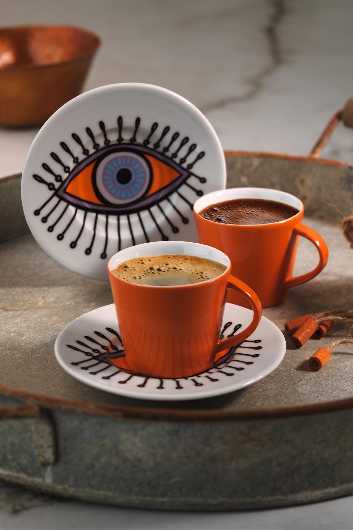 KÜTAHYA PORSELEN - Kütahya Porselen Toledo Kahve Takımı 11011R19