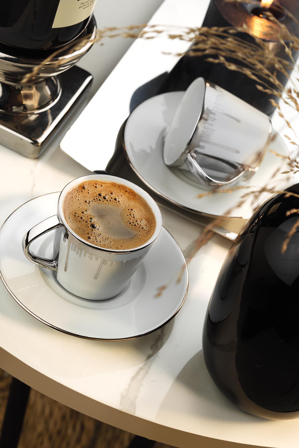 Kütahya Porselen Toledo Kahve Takımı 10751