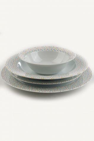 Kütahya Porselen - Kütahya Porselen Yasemin 24 Parça Yemek Seti 885099