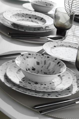 Kütahya Porselen - Kütahya Porselen Yasemin 24 Parça Yemek Seti 885247