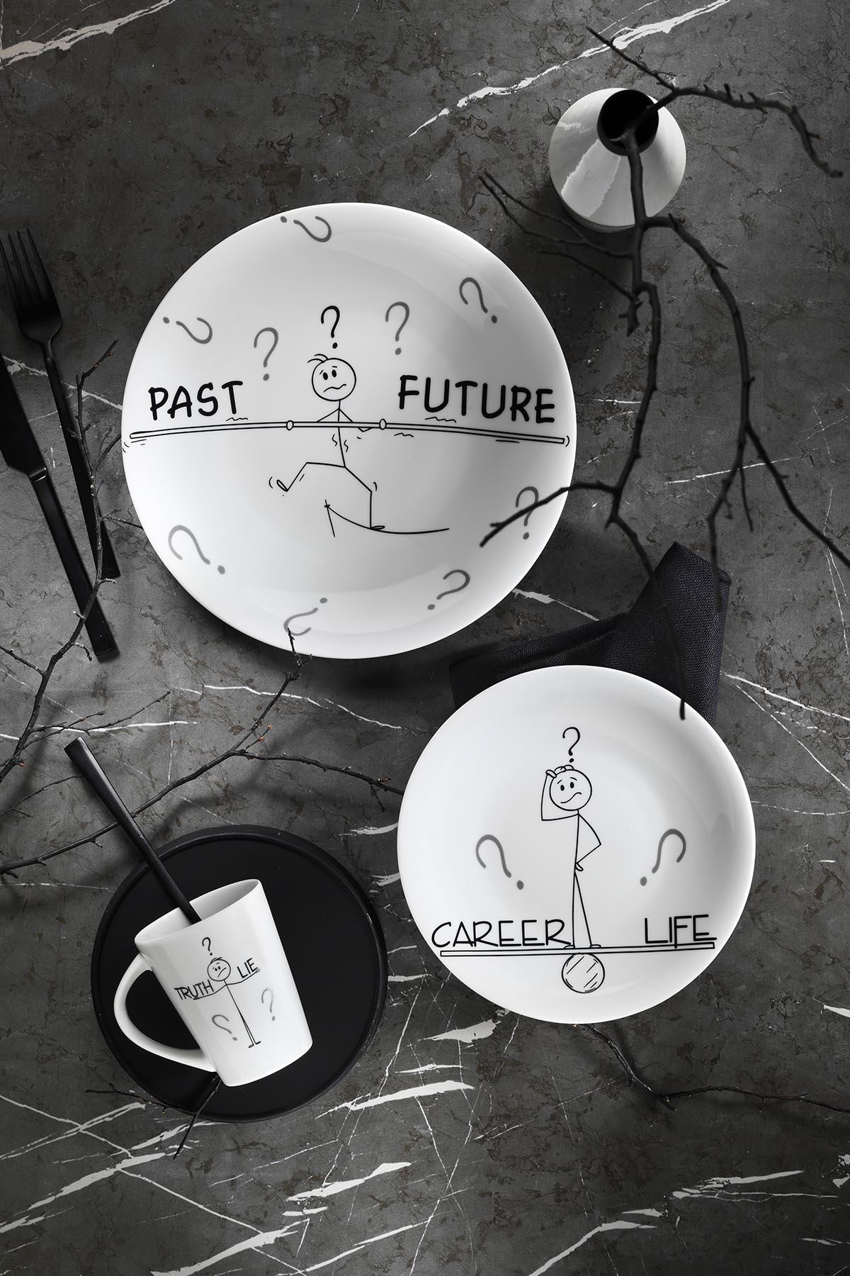 Kütahya Porselen - Zeugma 03 Parça Genç Seti 10869