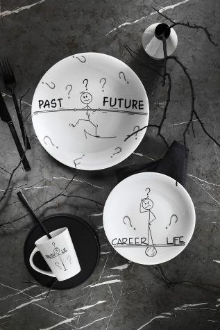 Kütahya Porselen - Kütahya Porselen Zeugma 3 Parça Genç Seti 10869