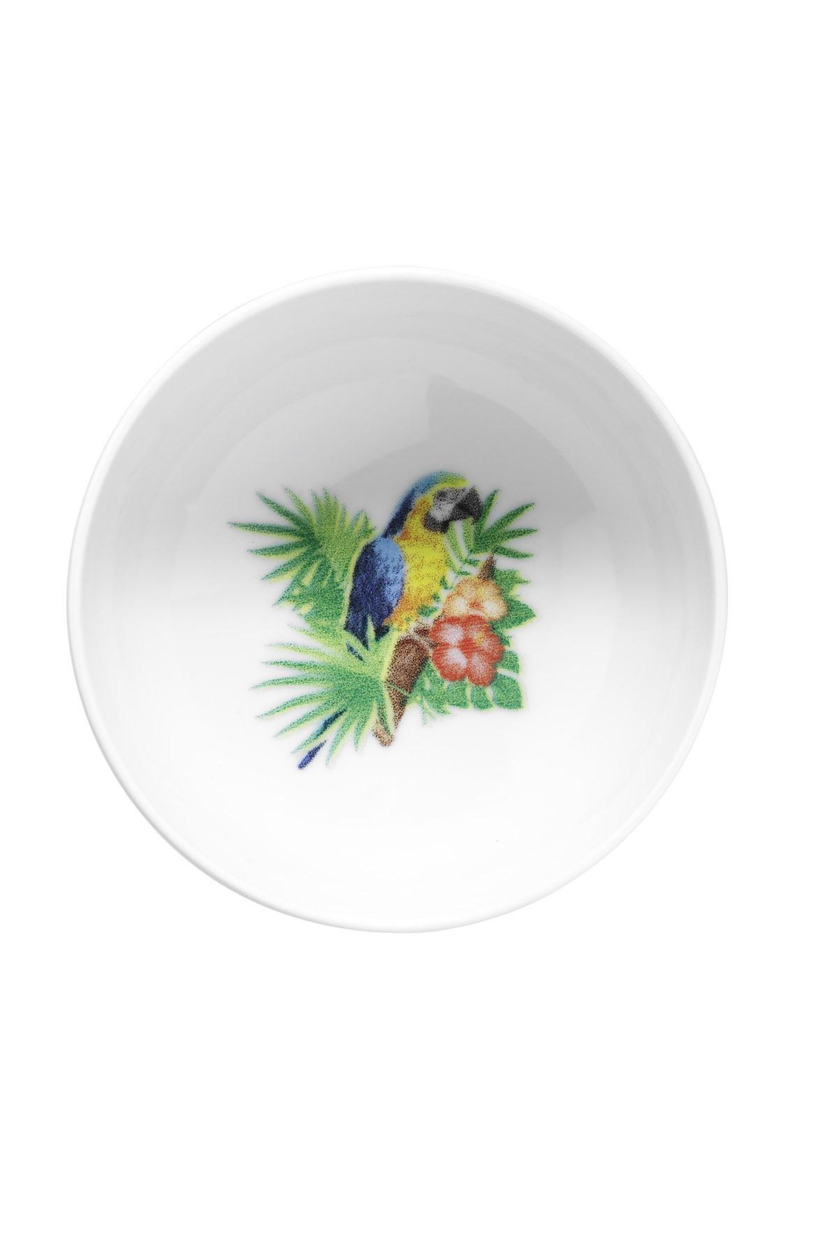 KÜTAHYA PORSELEN - Kütahya Porselen Doğadakiler 13 cm Kase Tabak Papağan
