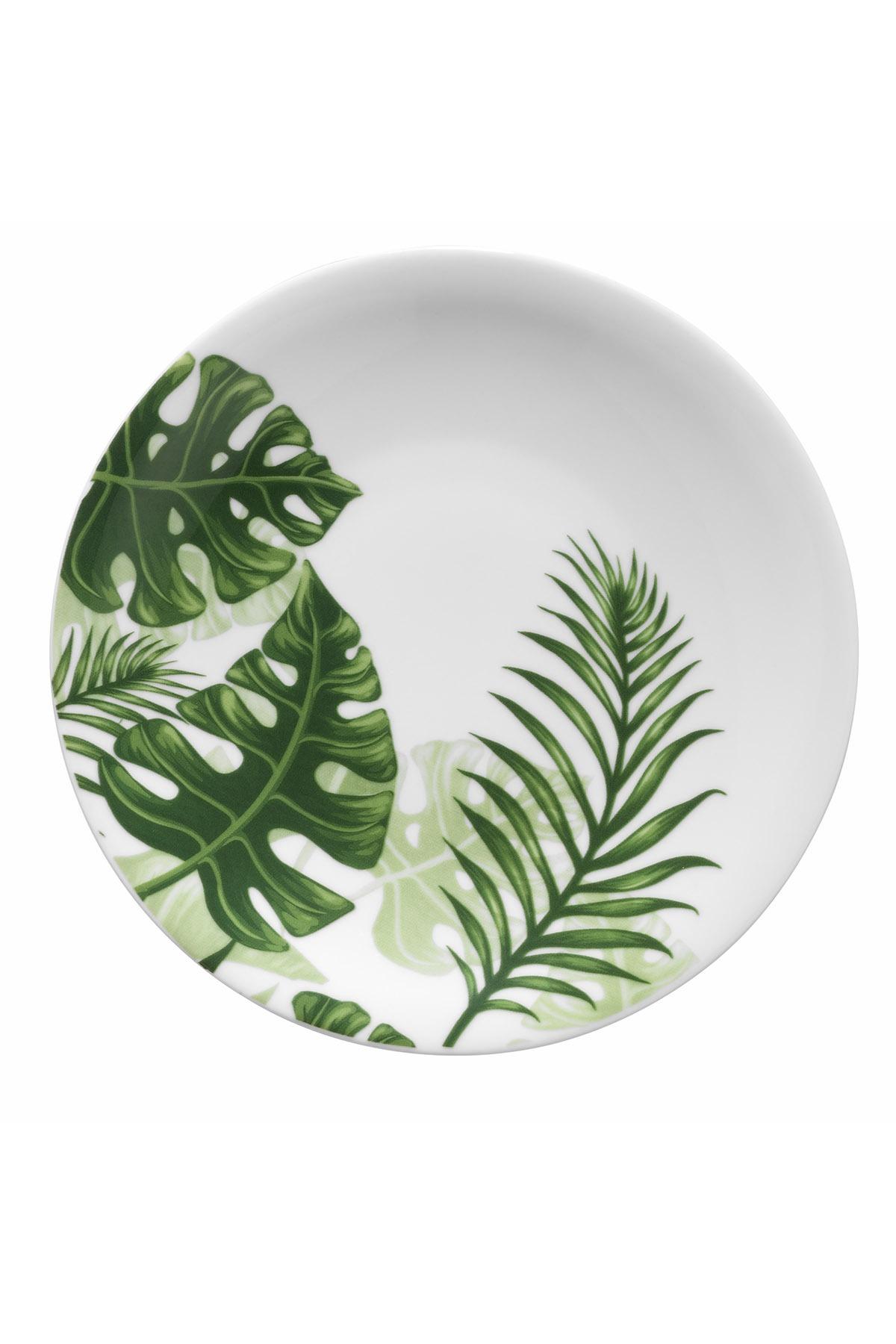Kütahya Porselen - Kütahya Porselen Doğadakiler 21 cm Pasta Tabağı 10289