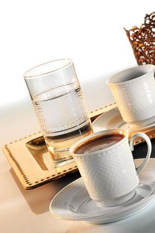 Kütahya Porselen - Kütahya Porselen Zümrüt Kahve Fincan Takımı